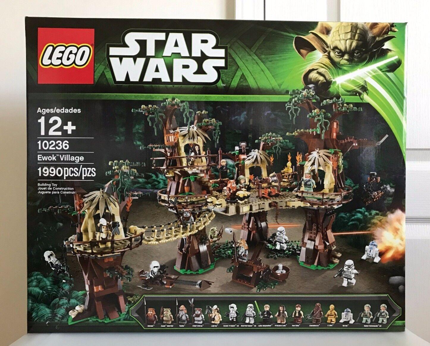 Nuevo LEGO 10236 Star Wars Ewok Village Sellado Sin Abrir