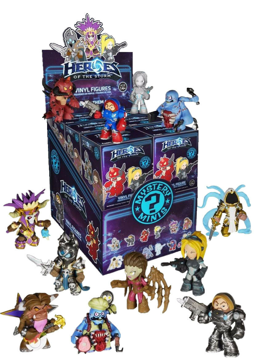 HEROES OF THE STORM - Mystery Minis Blind Box 2.5  Funko Vinyl Figures (12)  NEW