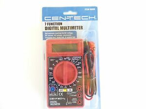 NEW IN PACKAGE - 7 FUNCTION DIGITAL MULTI-TESTER/MULTI-METER - MPN 98025