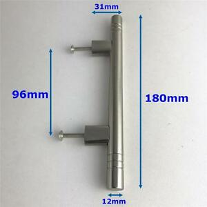 Image Is Loading Kitchen Drawer Cupboard Cabinet Door Handle Satin Chrome