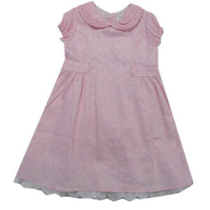 heißes Produkt Ruf zuerst exquisiter Stil Details zu Kanz Kleid Kleider Bubikragen kurzarm festlich Baumwolle rosa  Baby Gr.80,92