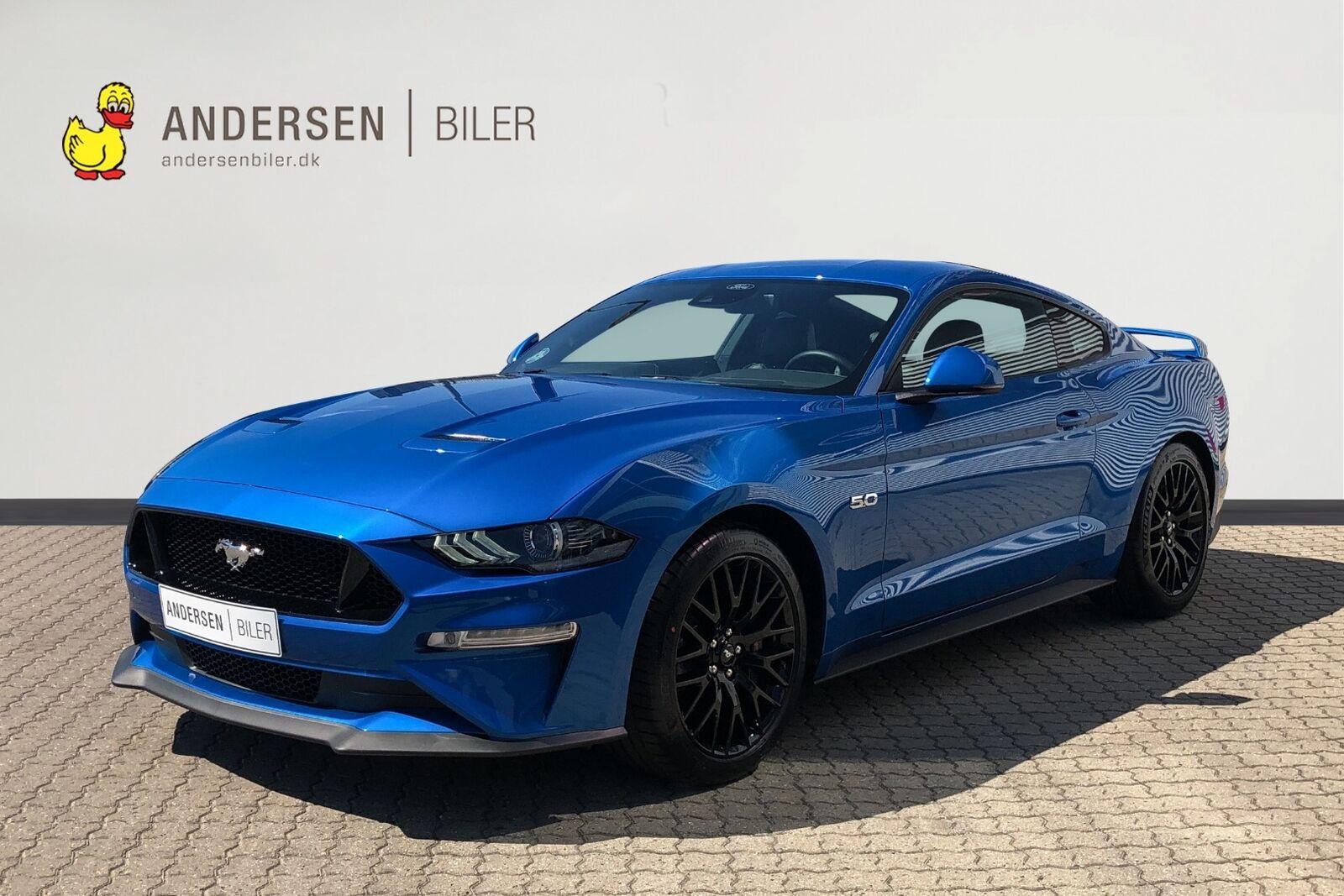 Ford Mustang 5,0 V8 GT Fastback aut. 2d - 868.788 kr.