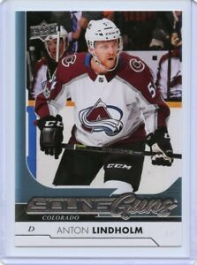 17/18 UPPER DECK YOUNG GUNS ROOKIE RC #456 ANTON LINDHOLM AVALANCHE *46187