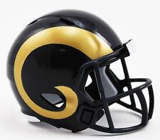 NEW NFL American Football Riddell SPEED Pocket Pro Helmet L A RAMS