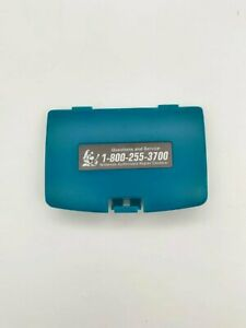 Teal-Battery-Cover-Game-Boy-Color-for-Nintendo-GBC-Replacement-Door-Sticker-New