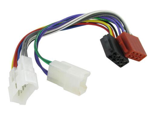 Ct20ty01 Daihatsu Move 97 en ISO Stereo Unidad Principal cableado Adaptador Plomo