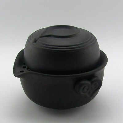 Purple Clay Sand-fired Pot Gaiwan Quick Gongfu Teapot Tea Cup 150ml