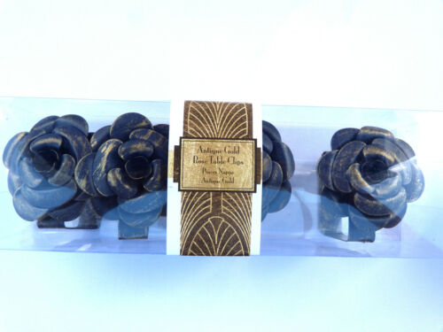 SET OF FOUR DISTRESSED ROSE TABLE CLIP PICNICS PARTIES WEDDINGS