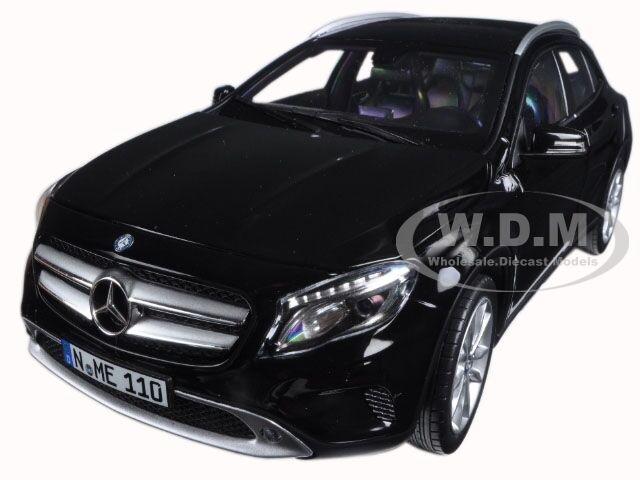 2014 Mercedes Clase GLA Negro 1 18 Diecast Modelo Modelo Modelo Coche por Norev 183450 3aaae1