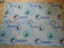 TOY STORY Pixar Disney Twin BED SHEET Top/Flat Cartoon Movie Buzz Woody Circles