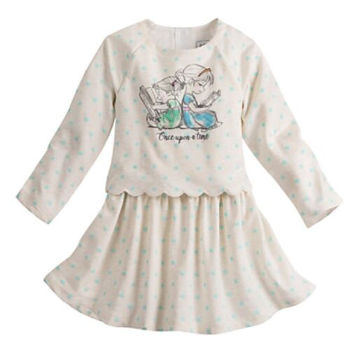 DISNEY STORE ANIMATORS/' COLLECTION DRESS FOR GIRLS NWT ANNA /& ELSA AS TODDLERS