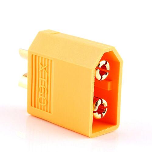 Prise Fiche XT30 XT60 2P Male Femelle pour batterie alimentation RC