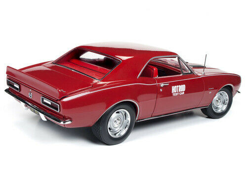 NEW! NEW! 1/18 American Muscle 1967 Chevrolet Camaro SS HOT ROD TEST AMM1163