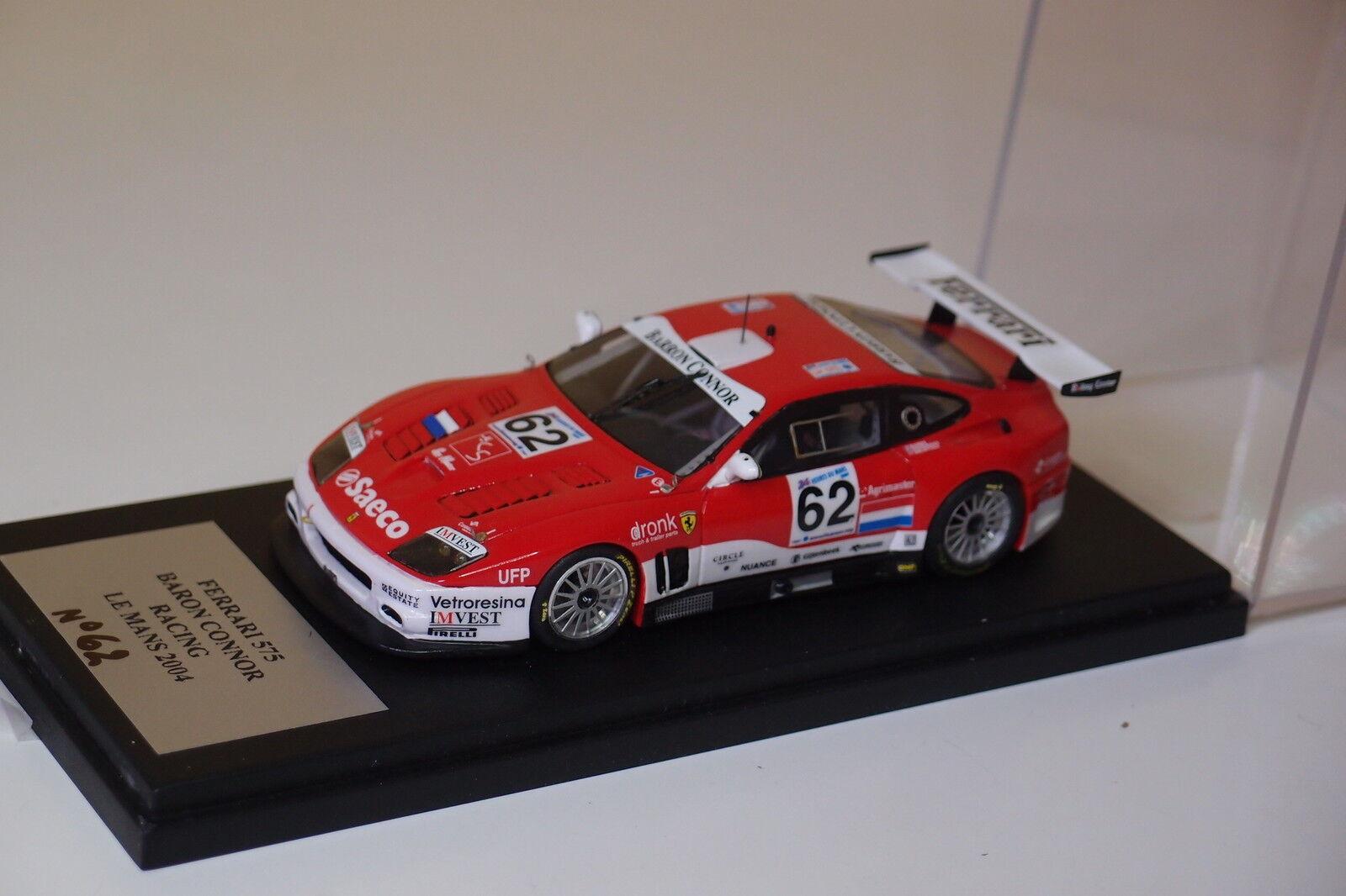 Mistral ferrari 575 baron connor racing   62 le mans 2004 1   43