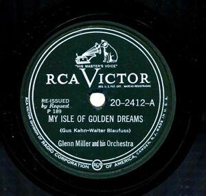 GLENN-MILLER-RCA-Victor-20-2412-My-Isle-of-Golden-Dreams-Perfidia