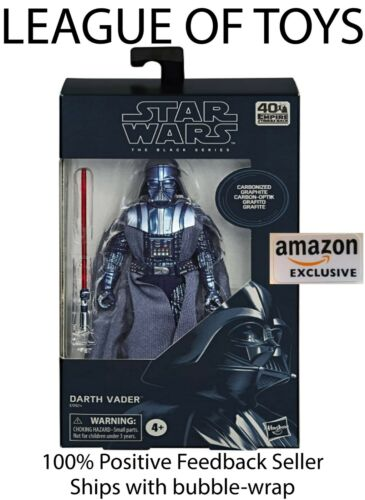 Star Wars Black Series Carbonized Darth Vader CONFIRMED ORDER Amazon Exclusive