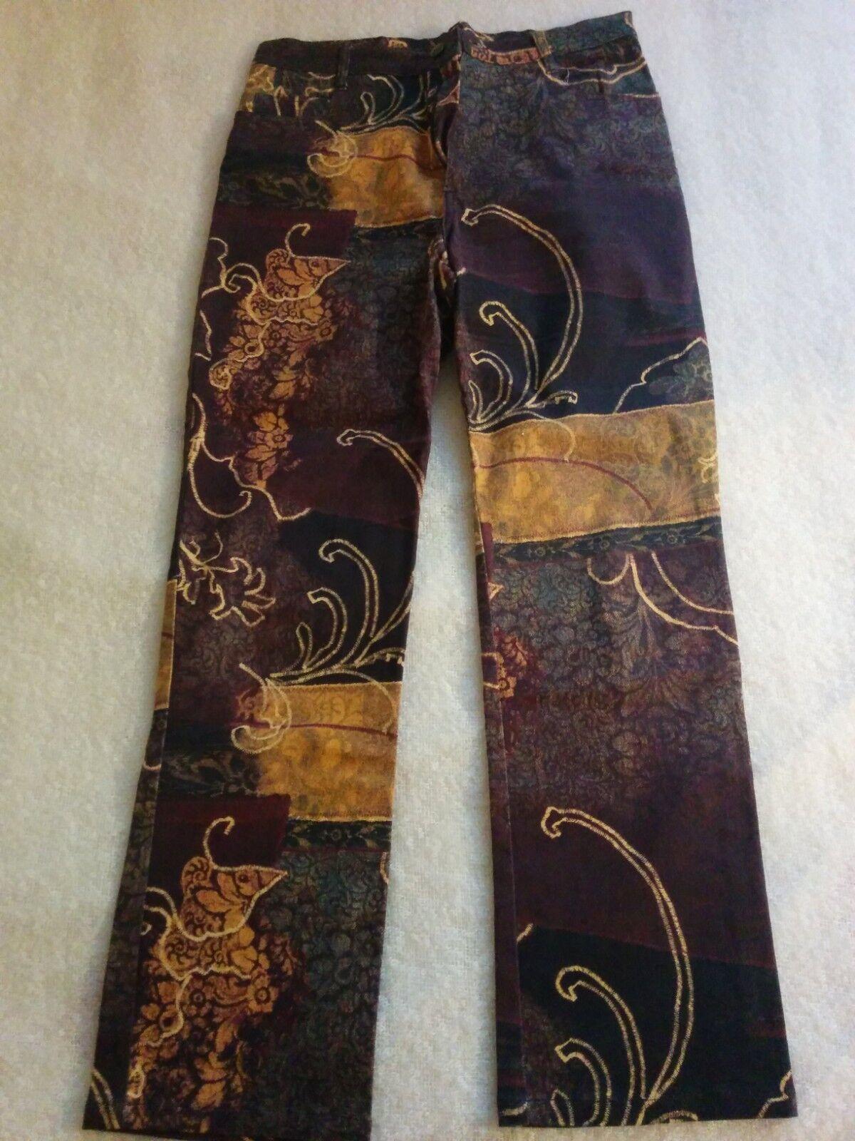Pantalon brown à motif Carla Kops size 42