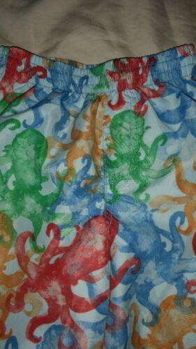 Octopus Boys Colorful Sz 3t Pair Threads City Swim Fantastic Trunks Great fEwXqY1n