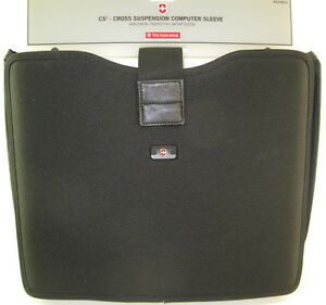 NEW-Victorinox-Swiss-Army-Blk-Horizontal-Laptop-Sleeve