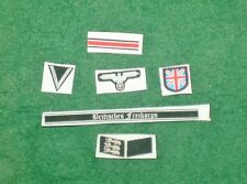 1/6 WW2 German British Free Korps insignia, badge and patches