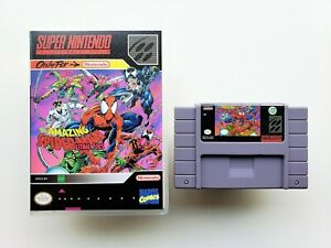 The-Amazing-Spiderman-Lethal-Foes-Game-Super-Nintendo-SNES-USA-Seller