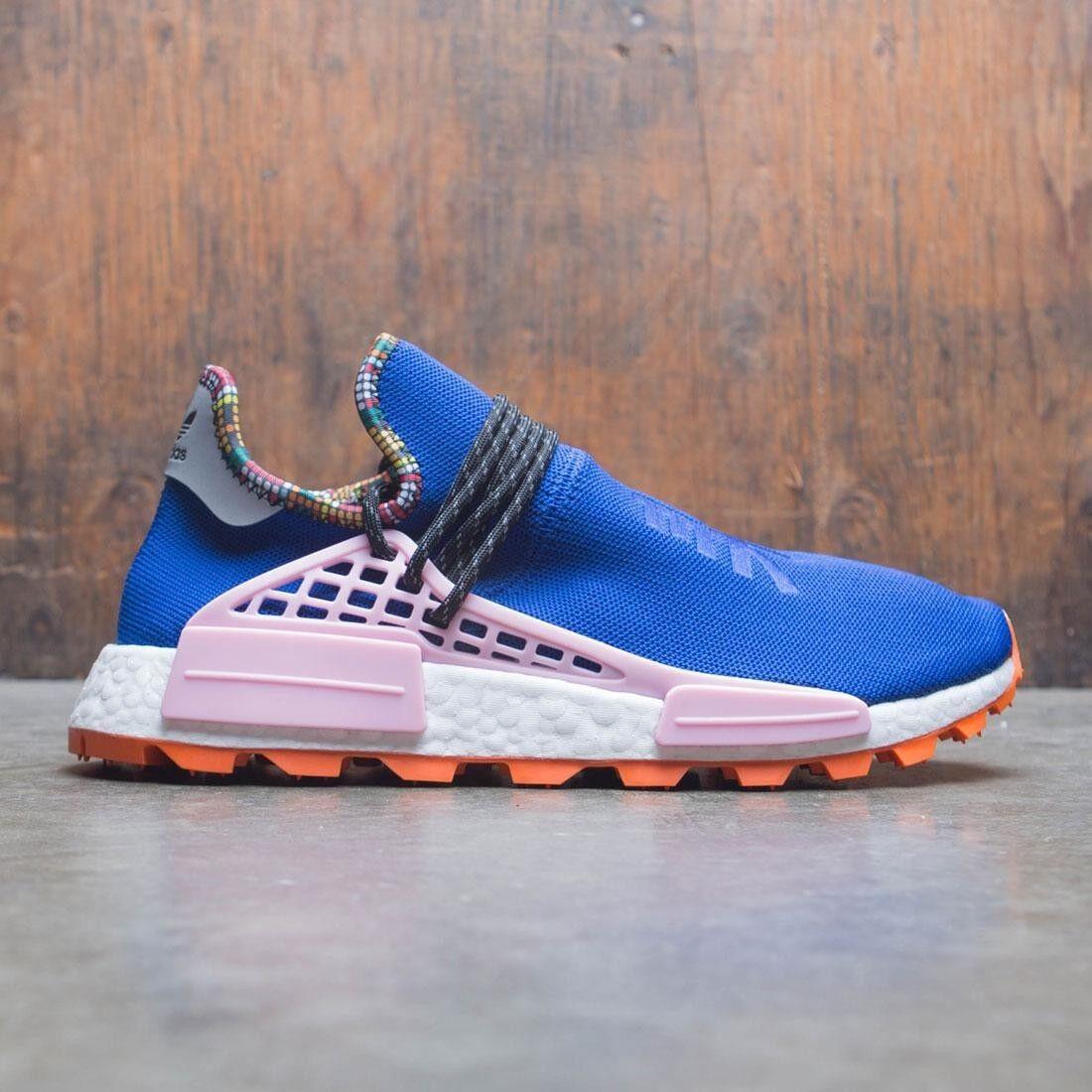 Adidas NMD Hu Pharrell Inspiration bluee Pink orange Size 14. EE7579 yeezy pk