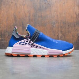9cfe9e3ec Image is loading Adidas-NMD-Hu-Pharrell-Inspiration-Blue-Pink-Orange-
