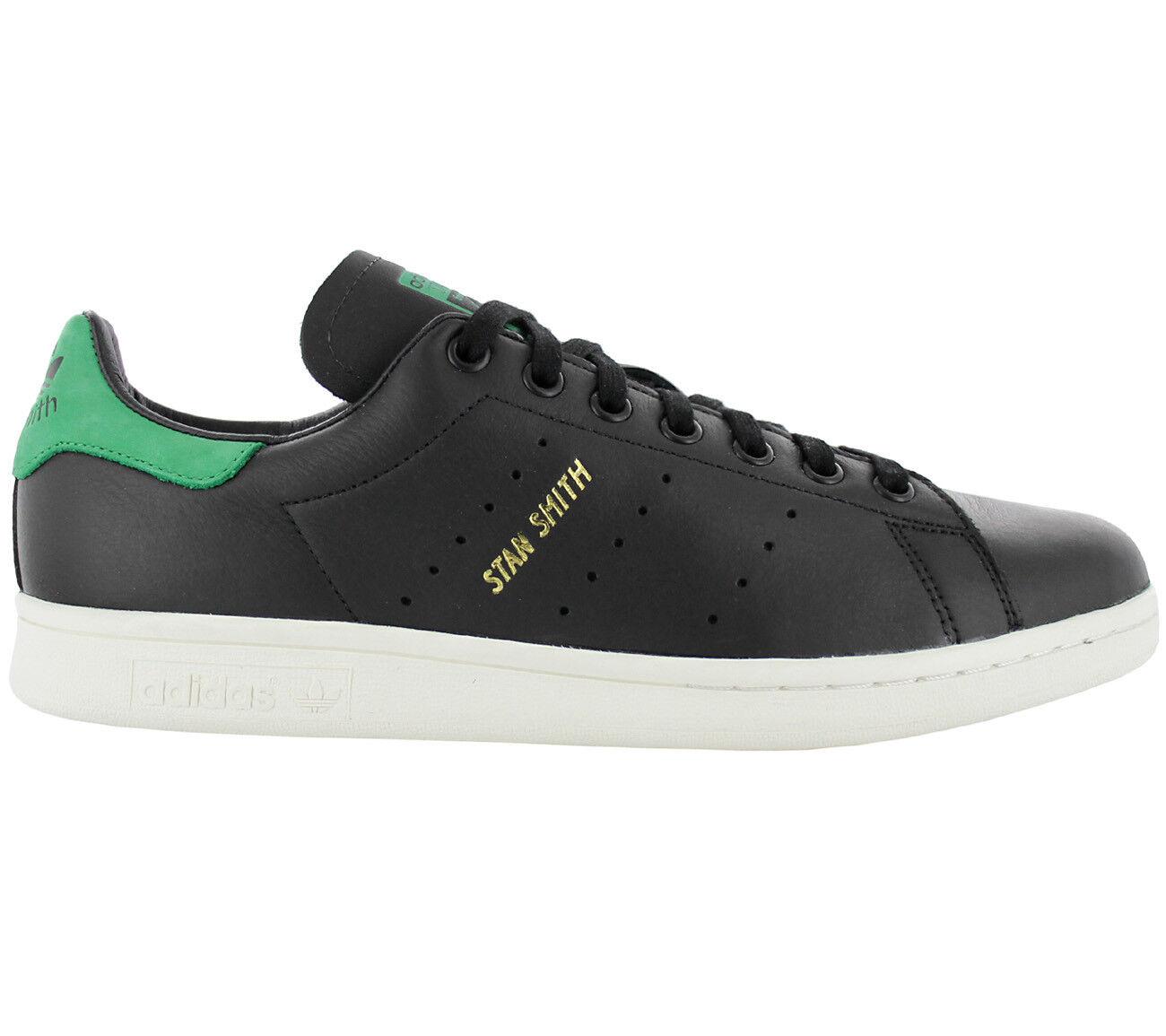 Adidas Originals Stan Smith Damenschuhe aus Leder Schwarzer Sneaker BZ0458 Sneakers