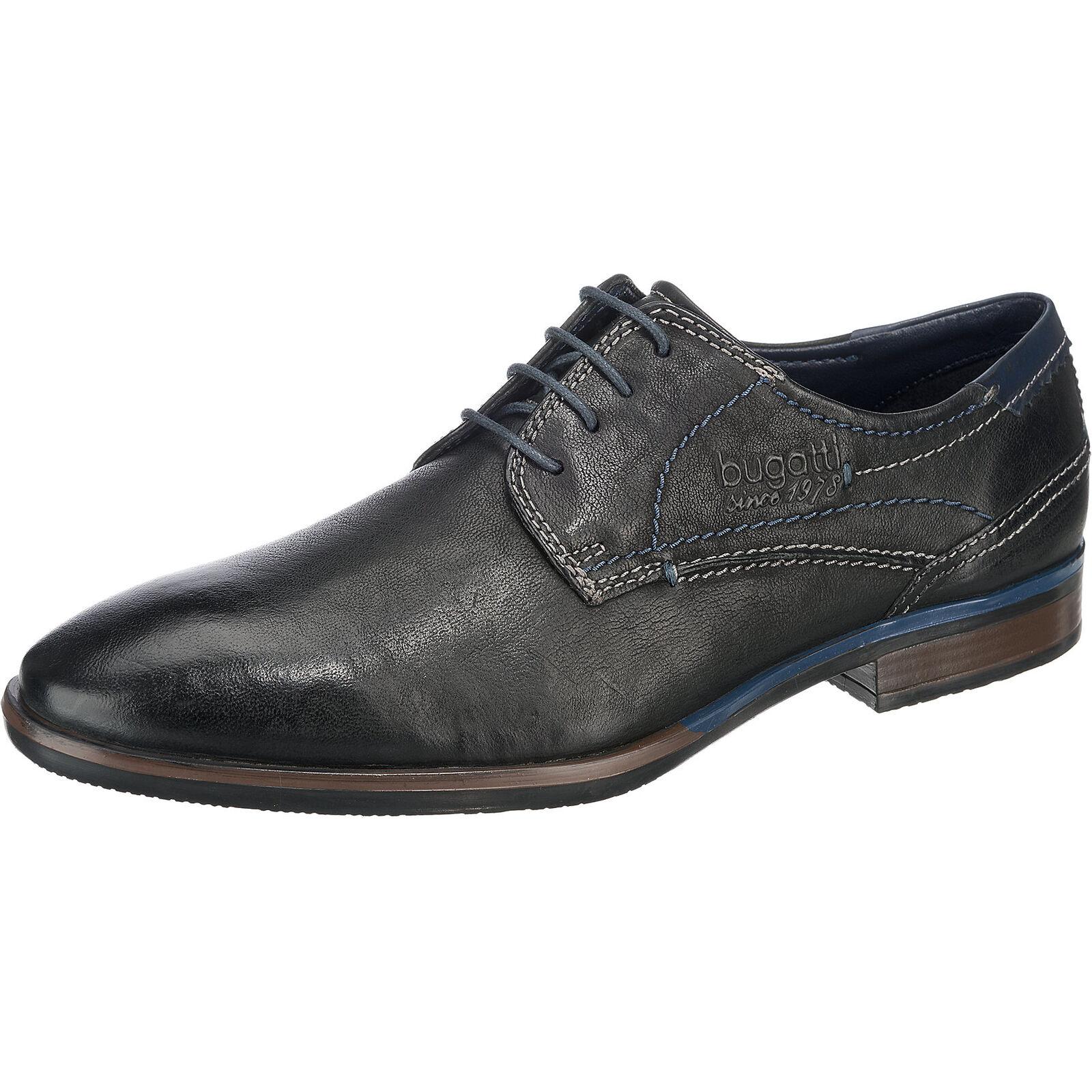 Neu bugatti Freizeit Schuhe schwarz 6959708