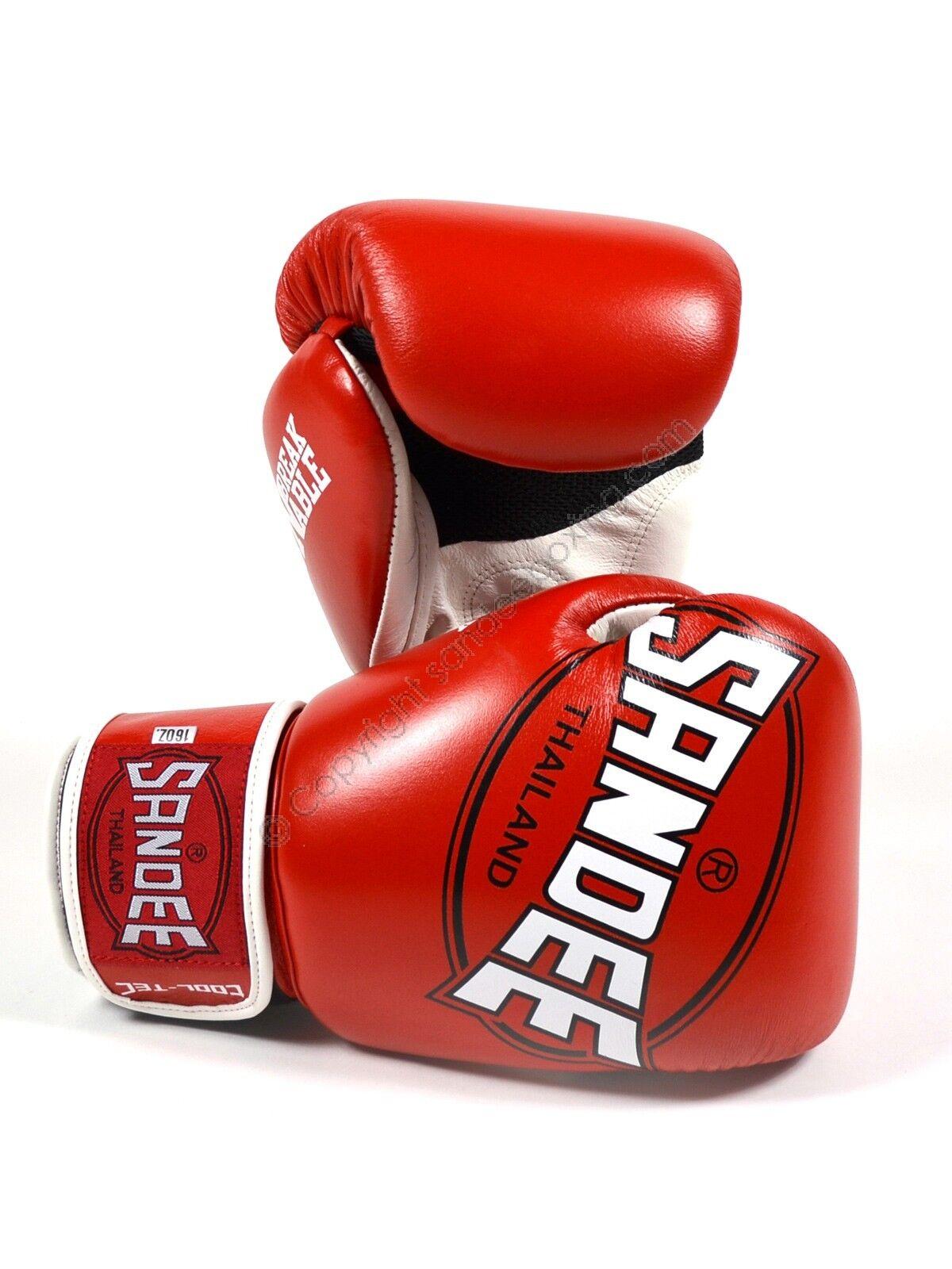 Sandee Cool-Tec ROT Leder Boxing Gloves Kids Kids Kids Boxing Gloves 5f6dbe