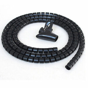 office cable tidy. Image Is Loading Cable-Tidy-Kit-TV-PC-Wire-Organise-Home- Office Cable Tidy