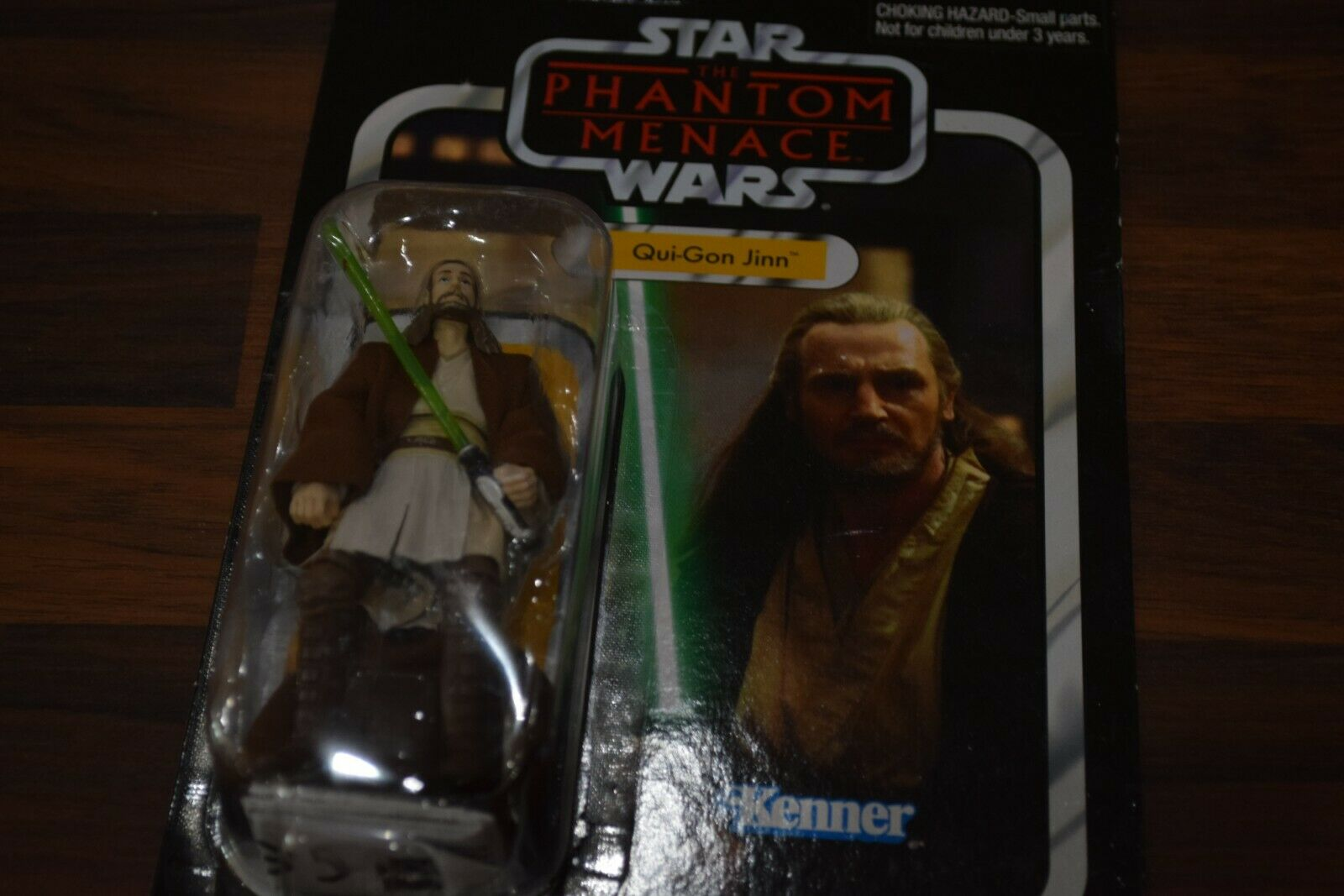Kenner hasbro Star Wars Vintage Collection VC75 Qui Gon Jinn mint