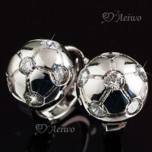 18k-white-gold-made-with-Swarovski-crystal-half-ball-bead-huggie-stud-earrings