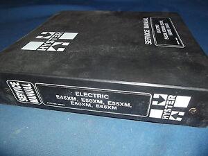 hyster e45xm e50xm e55xm e60xm e65xm forklift service shop repair rh ebay com Hyster Forklift Steering Column Wiring Diagram Hyster Forklift Radiator