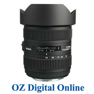 New-Sigma-12-24mm-F4-5-5-6-II-DG-HSM-Lens-for-Nikon-1-Yr-Au-Wty