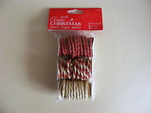 Docrafts-Create-Christmas-Twine-Pack-Card-Making-amp-Scrap-Booking