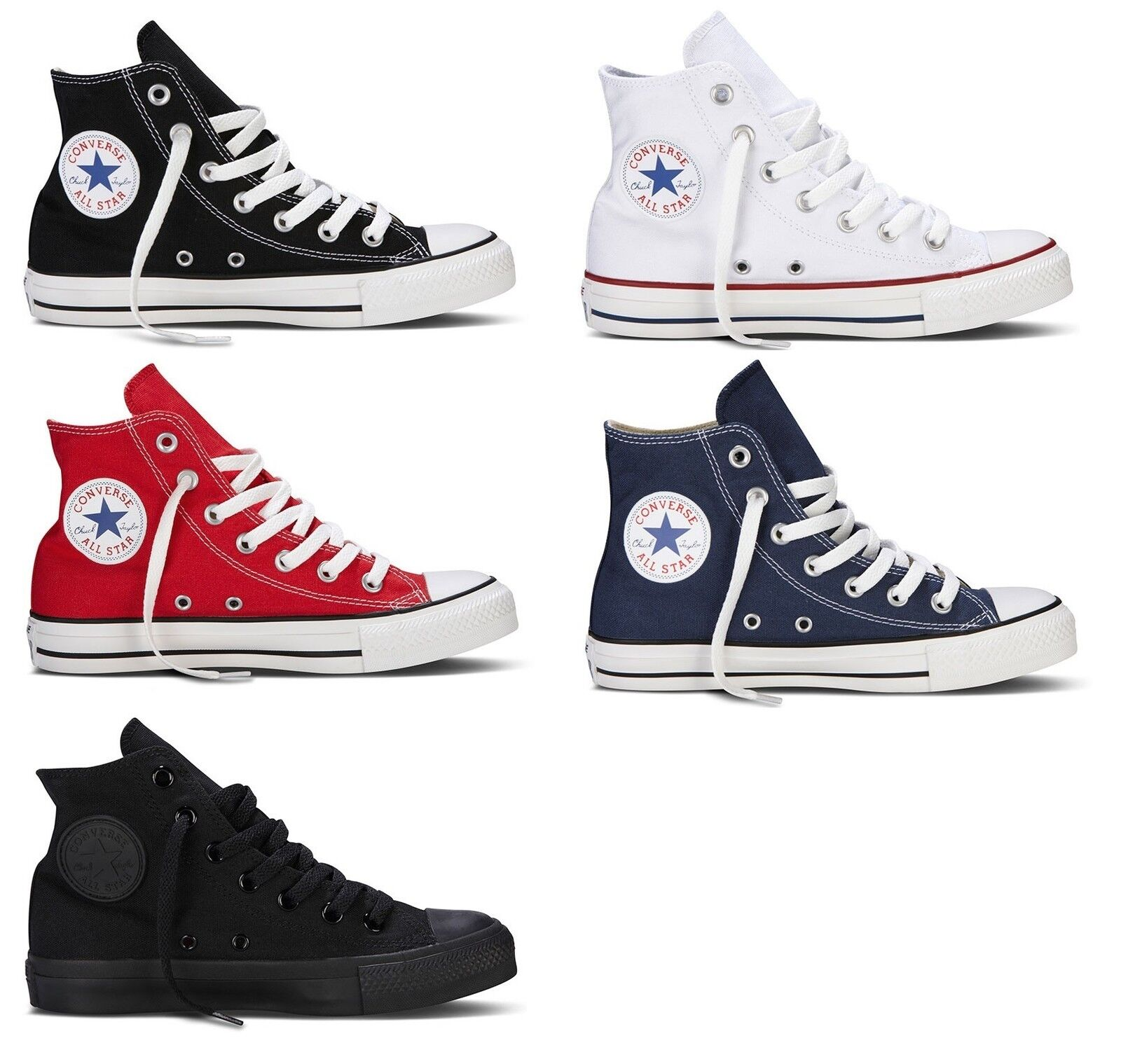 c06b3bacbedf Converse High Chuck Taylor Trainer All Star AUTHENTIC Adult All colors NEW