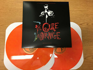 The-Cure-Live-In-Orange-Double-Color-Vinyl-LP-1986-Faith-Pornography-The-Top