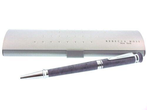 New Rebecca Moss Water Wave Purple Ballpoint Pen Retails @$95