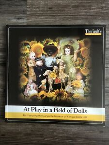 At Play In A Field Of Dolls Theriault S Dollmasters Doll Catalog Book Auction Ebay