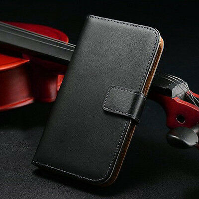 HOT Magnetic Closure Genuine Leather Wallet Case Cover For Samsung Galaxy Note 3