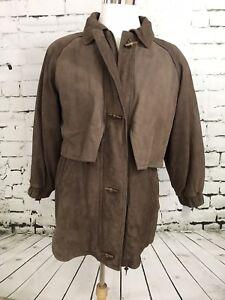 Wilsons-ADVENTURE-BOUND-Men-Brown-Leather-BARNSTORMER-Lined-Jacket-Coat-M-HG