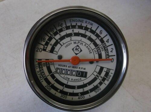 Oil Pressure Fuel Temp Amp Tach Gauge Set for Allis Chalmers Gas D14 D15 D17