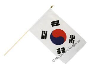 Digni/® Poignet /éponge avec drapeau Cor/ée du Sud