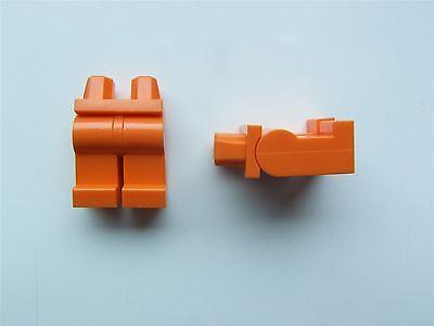Vertrieb Von QualitäTssicherung 4120158 2 X Lego Orange Minifigure Lower Body Legs parts & Pieces