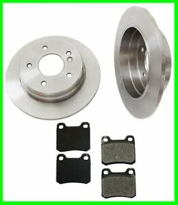 94-95-96-Mercedes-C220-C280-Rear-Brake-Rotors-Pads