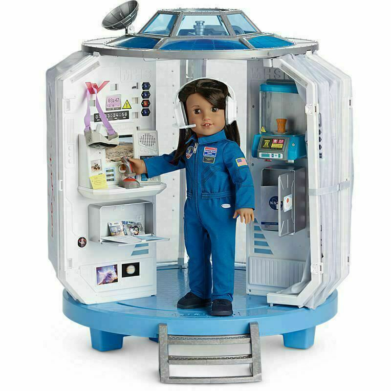 American Girl Doll Luciana's Mars Habitat Space Station Brand New in box