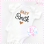 Personalised-Baby-Vest-Unisex-Embroidered-Design-Clothes-Grow-Bodysuit thumbnail 1