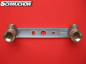 5-x-ghisa-rossa-unita-di-montaggio-GEMINI-15-mm-1-2-034-rame-Rondella-della-parete
