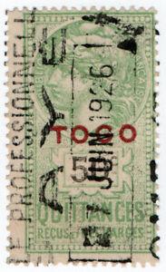 I-B-France-Colonial-Revenue-Togo-Receipt-50c